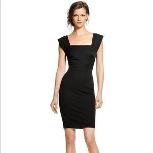 Banana Republic Roland Mouret Black Dress